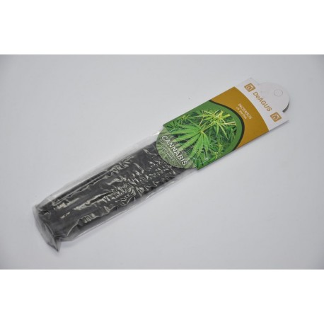 Paquete de 20 varillas de incienso con aroma a cannabis